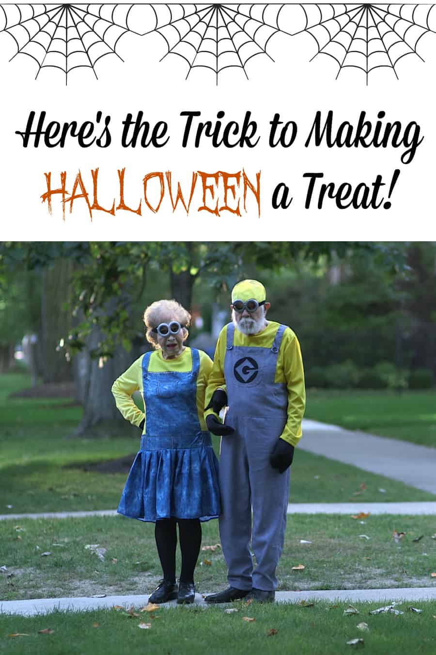 Here's the Trick to Making Halloween a Treat #TrickTreat
