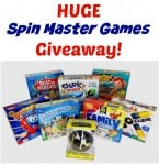 HUGE Family Game Night Prize Package From Spin Master