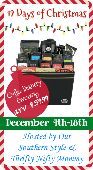 On The 4th Day Of Christmas My Best Friend Gave To Me – Coffee From Coffee Beanery!