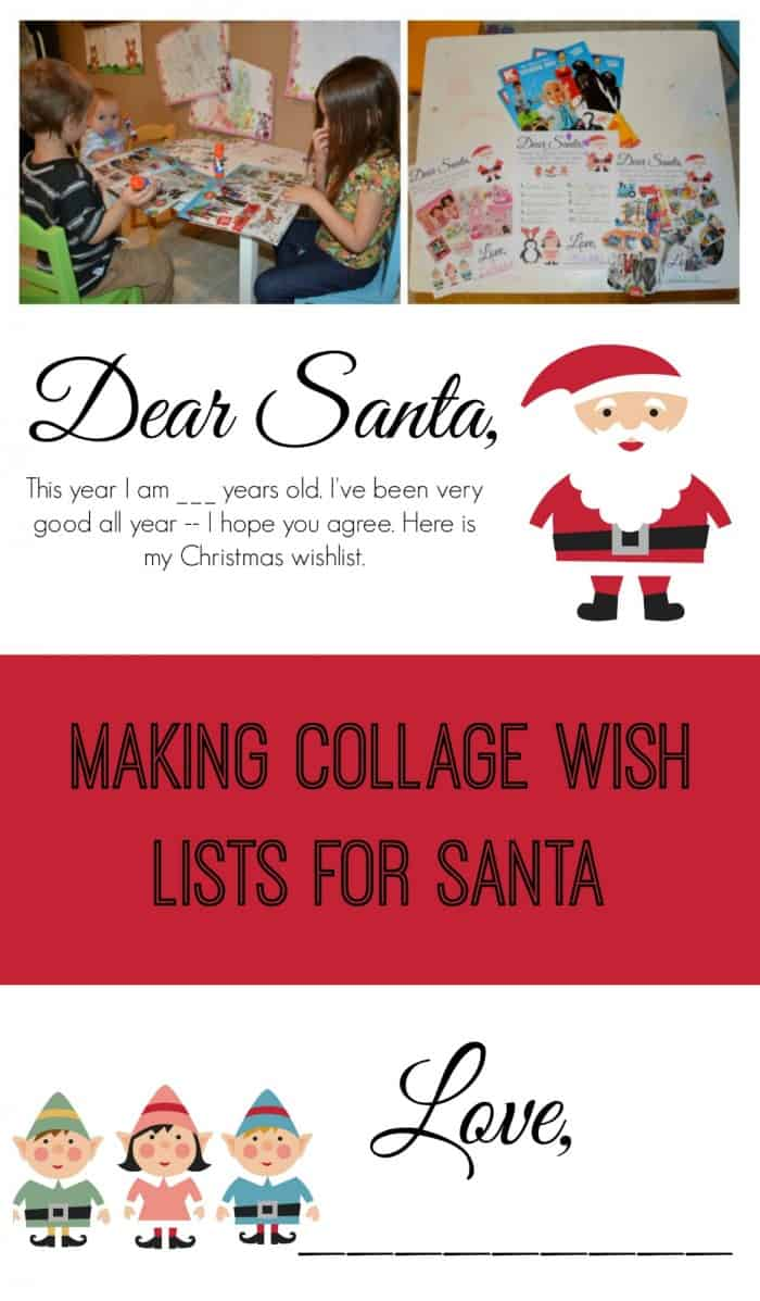 Collage Wish Lists