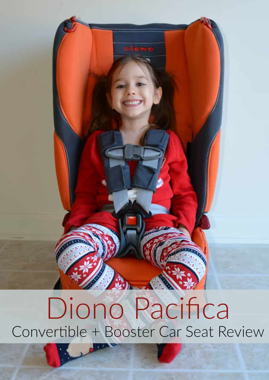 Win a Diono Pacifica Convertible + Booster Car Seat!