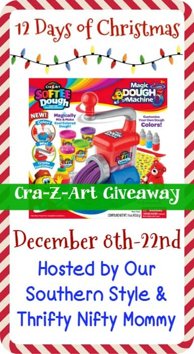 On The 8th Day Of Christmas My Parents Gave To Me – Cra-Z-Art Dough For Me To Shape