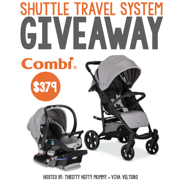 Combi Shuttle Travel System Giveaway
