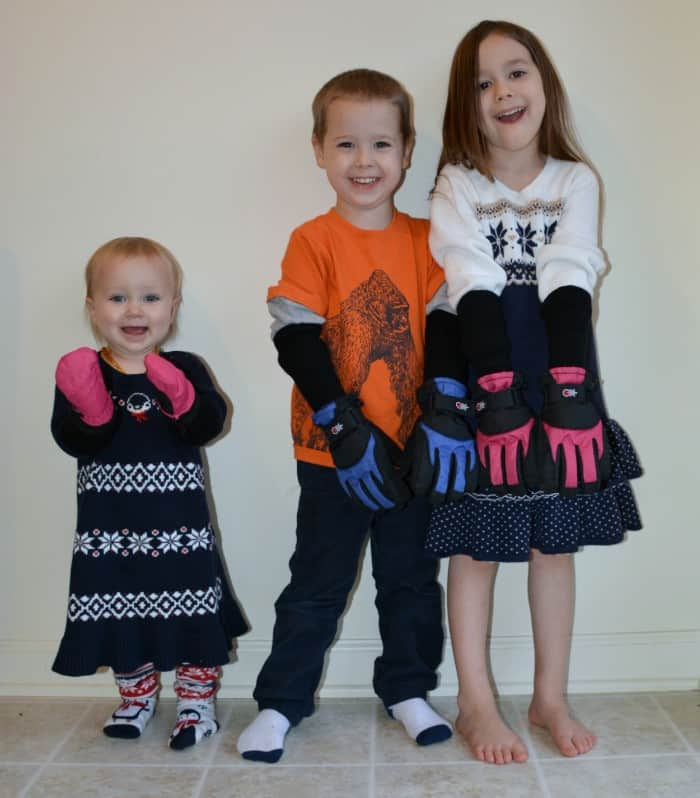 Kids with Gloves