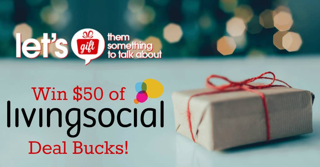 Save BIG on Last Minute Gifts Through LivingSocial #Gift2TalkAbout
