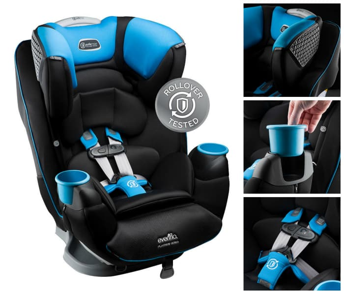 Evenflo Platinum Safemax Car Seat – The First to be Rollover Tested!