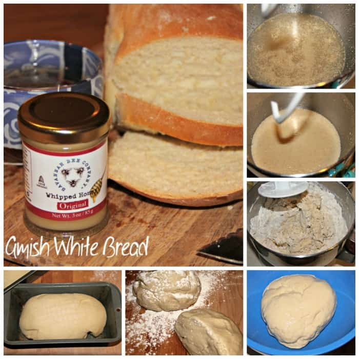 Amish White Bread Collage