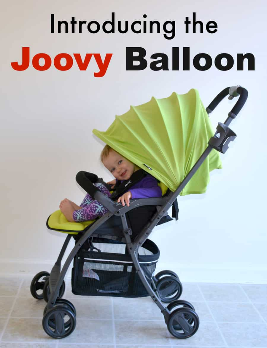 Introducing the Joovy Balloon Lightweight Stroller