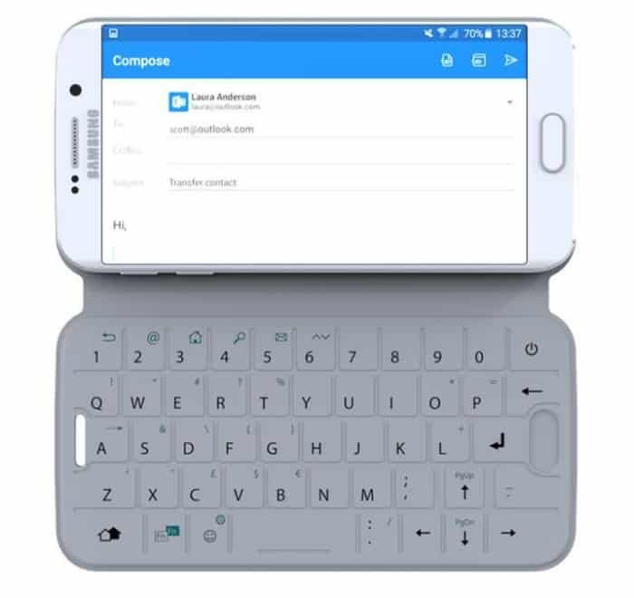 SlimType {The Physical Keyboard for Your Smartphone}