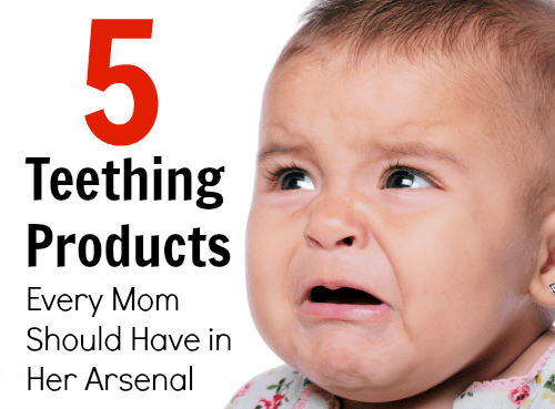 5 Teething Products Every Mom Should Have in her Arsenal