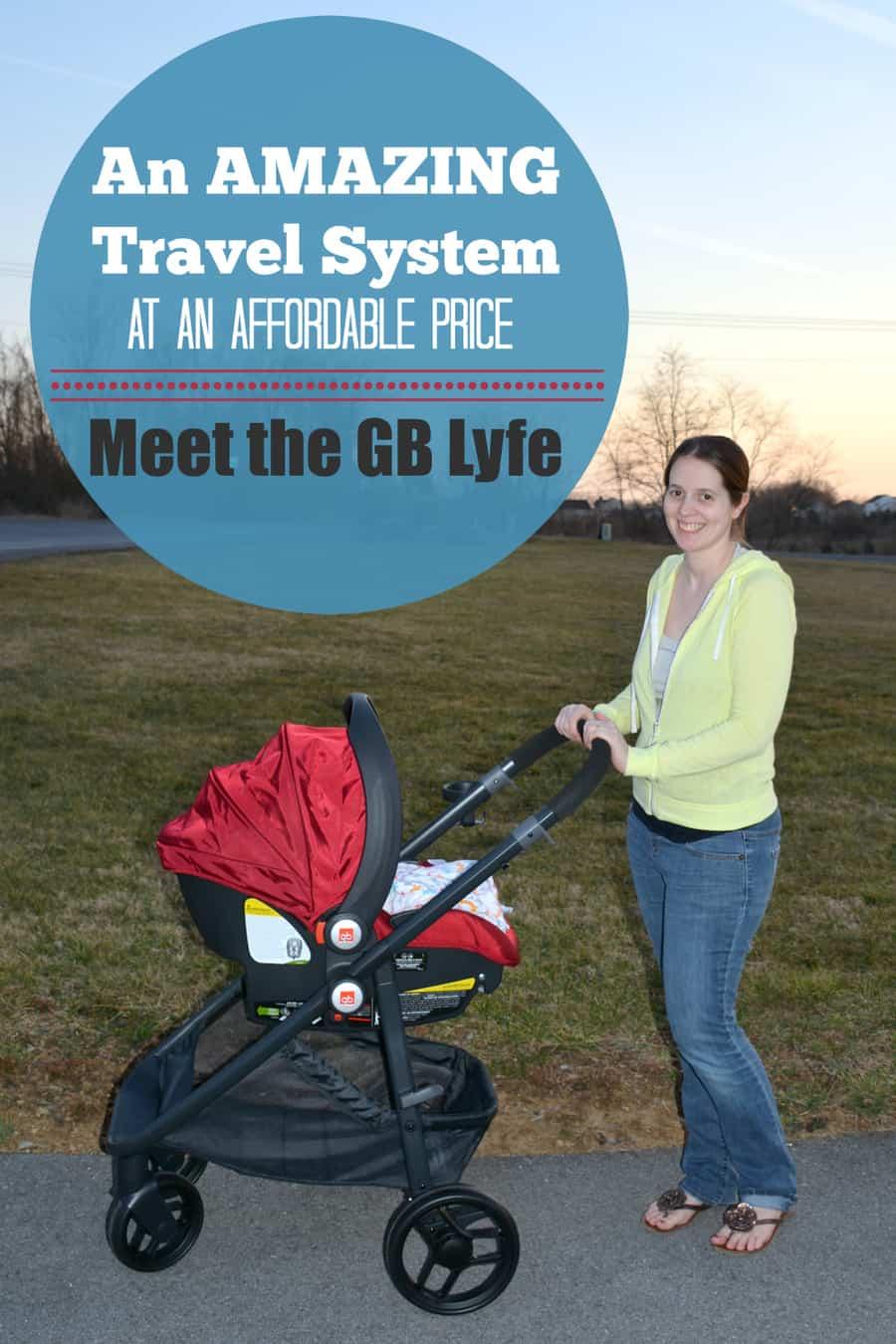 Meet the GB Lyfe Travel System