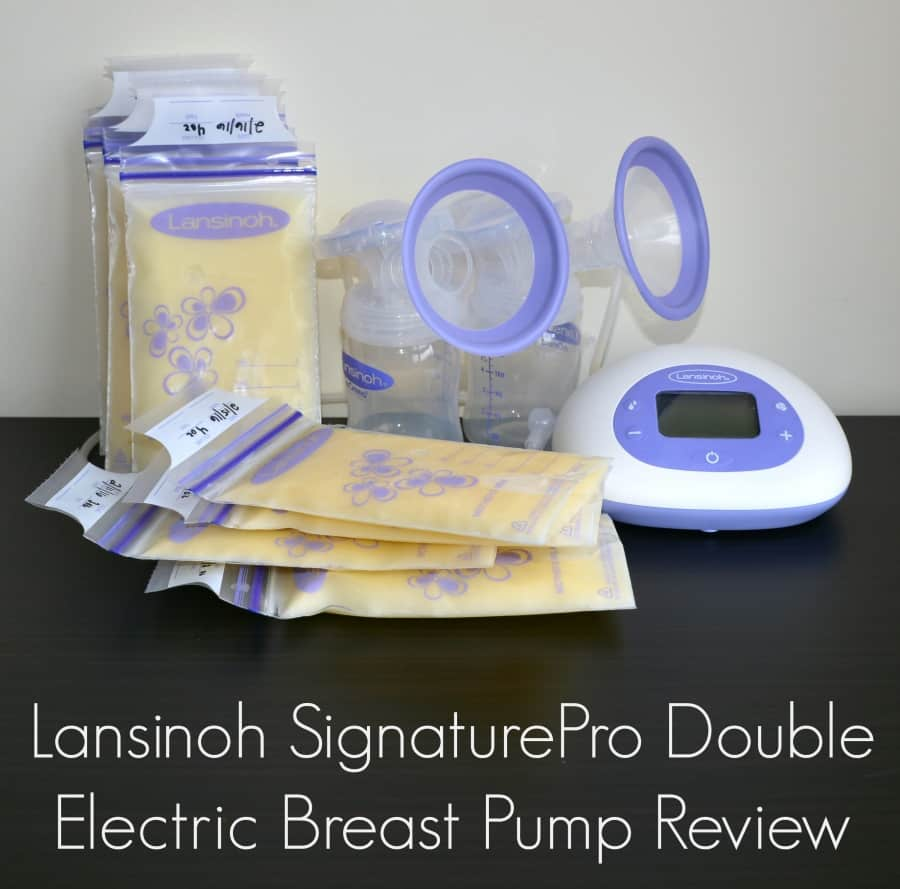 Lansinoh Signaturepro Double Electric Breast Pump Review Thrifty