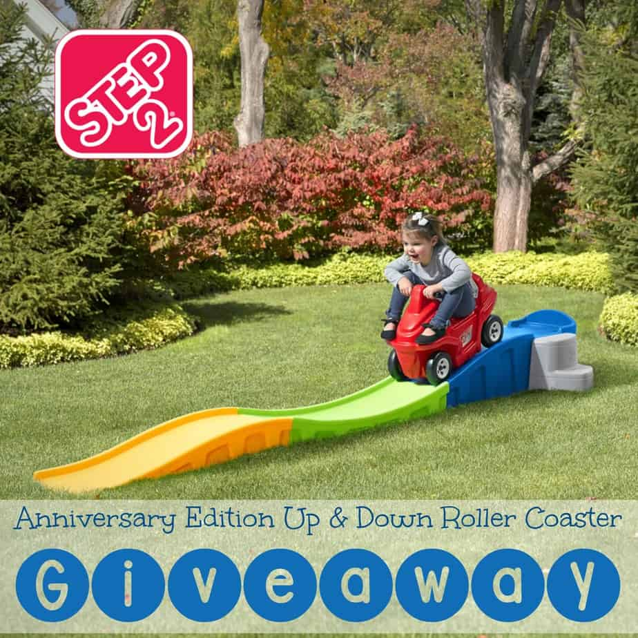 Rolling into Spring with the Step2 Anniversary Edition Up & Down Roller Coaster
