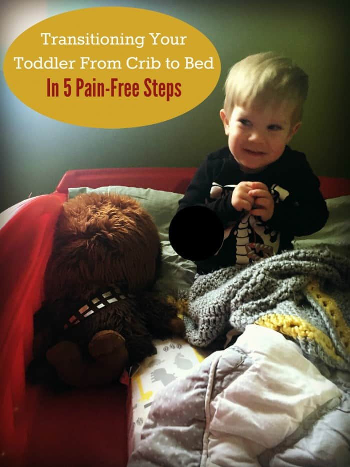 transitioning your toddler from crib to bed