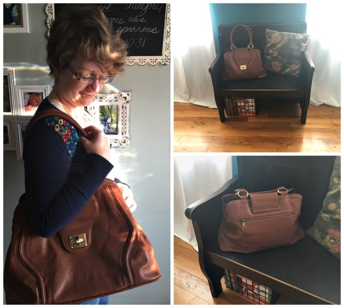 Check Out the Gail Satchel Diaper Bag by Newlie