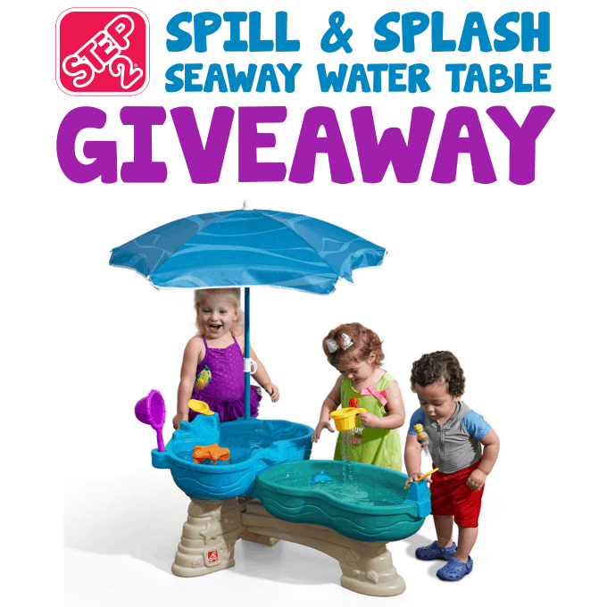 spill splash seaway water table giveaway the homespun On fish table sweepstakes
