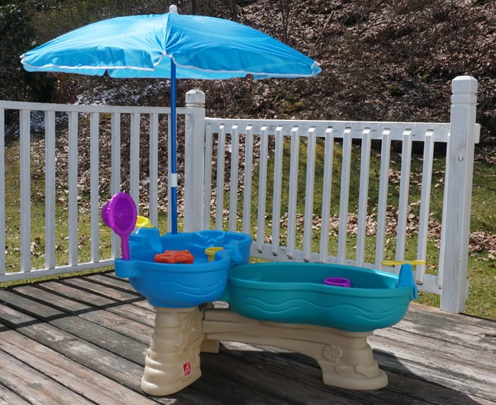 Splashing Our Way into Summer with the Step2 Spill and Splash Seaway Water Table!