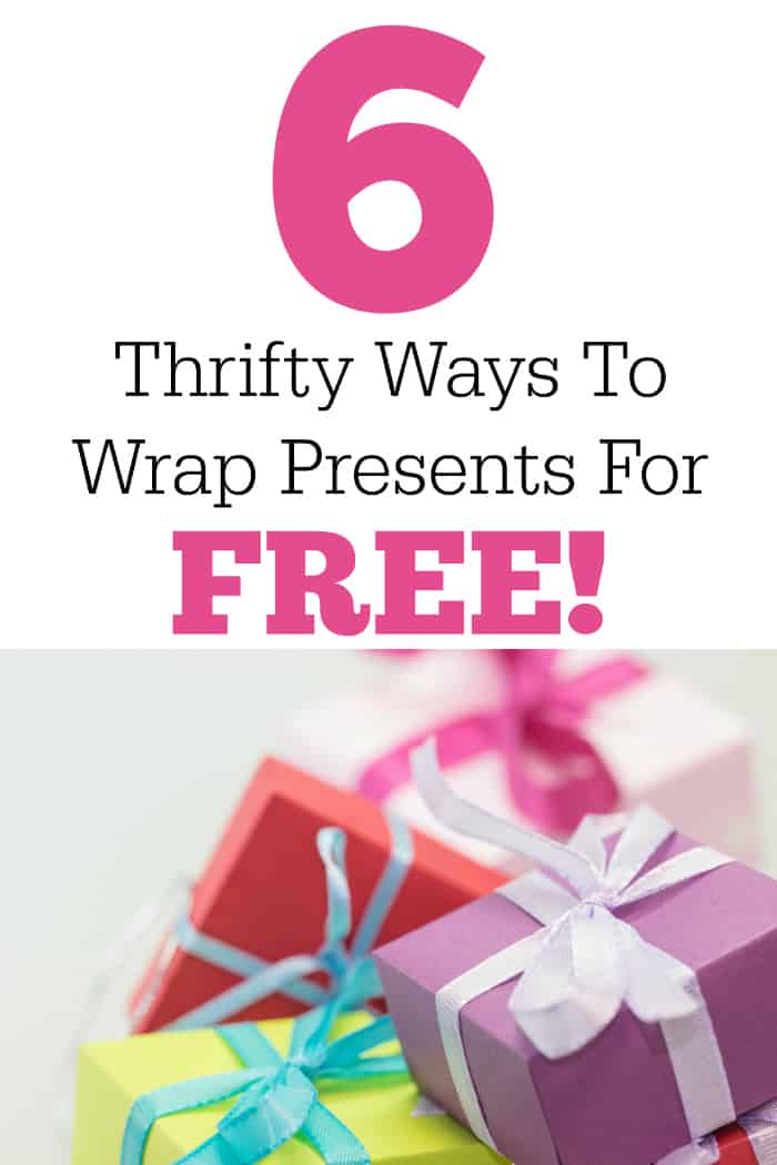 6 Thrifty Ways To Wrap Presents For Free!