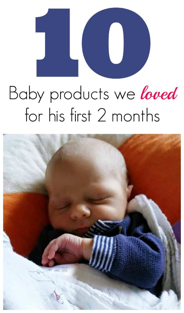 10 Baby Products We Loved for the first 2 months