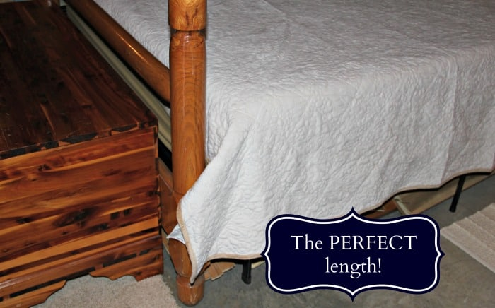 Spectacular I chose the ucqueen ud size for our bed and it us truly the perfect length All of the Berkshire Blanket bedding sets typically e with a quilt and two pillow