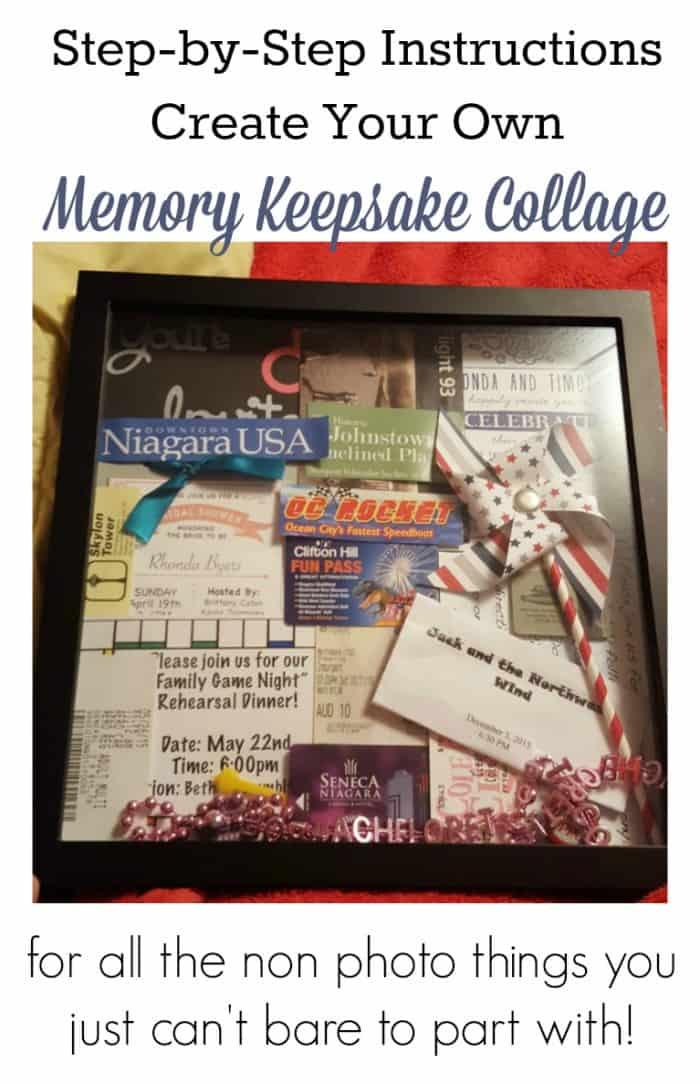 Memory Keepsake Collage