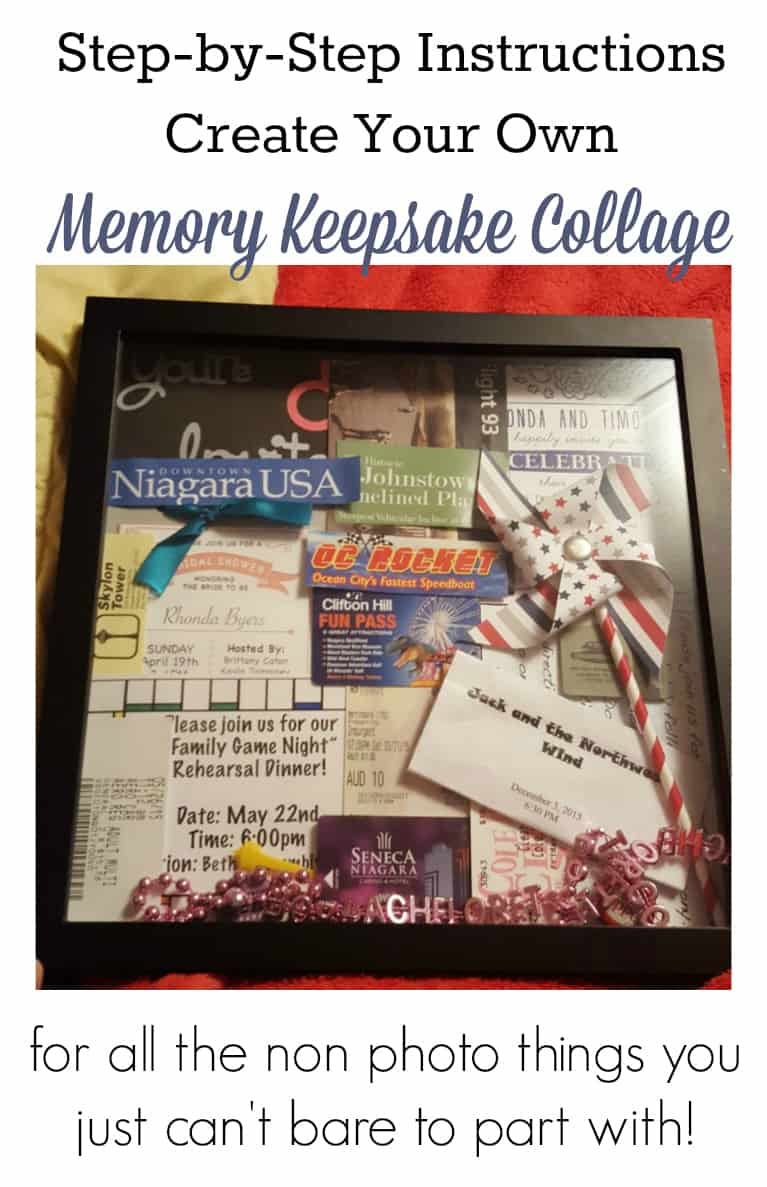 Create Your Own Memory Keepsake Collages