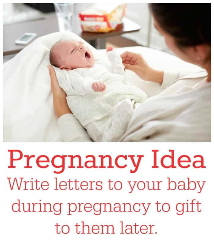 Write Letters to Your Baby