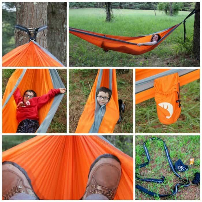 tribal hammock collage