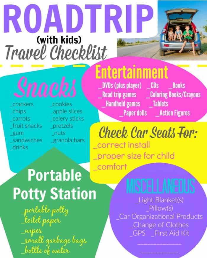 Roadtrip Checklist