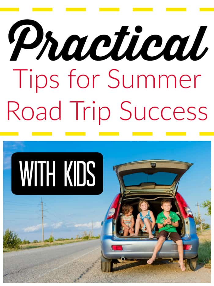 Tips for Summer Road Trip {With Kids} Success