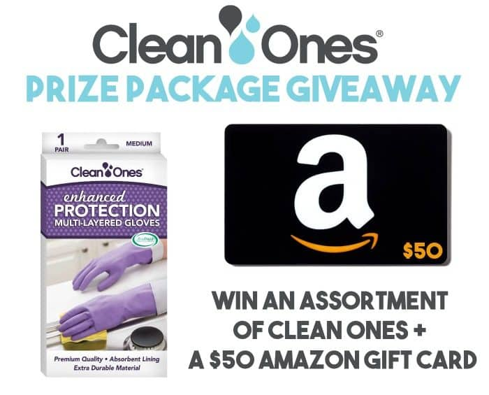 clean ones gloves amazon giveaway