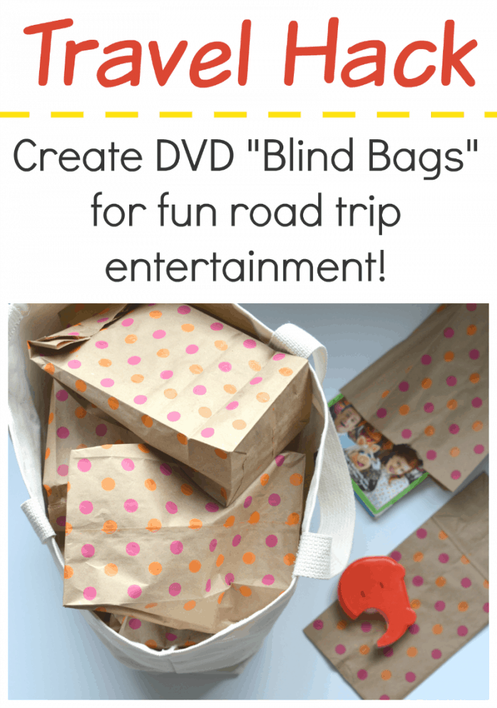 Cool Idea - Make Blind Bags with DVDs!