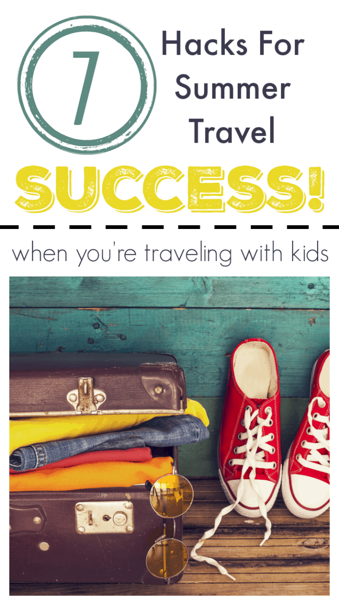 hacks for traveling with kids