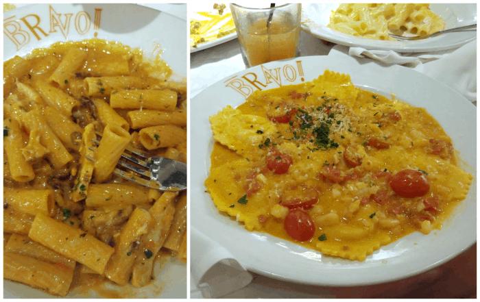 Meals at Bravo