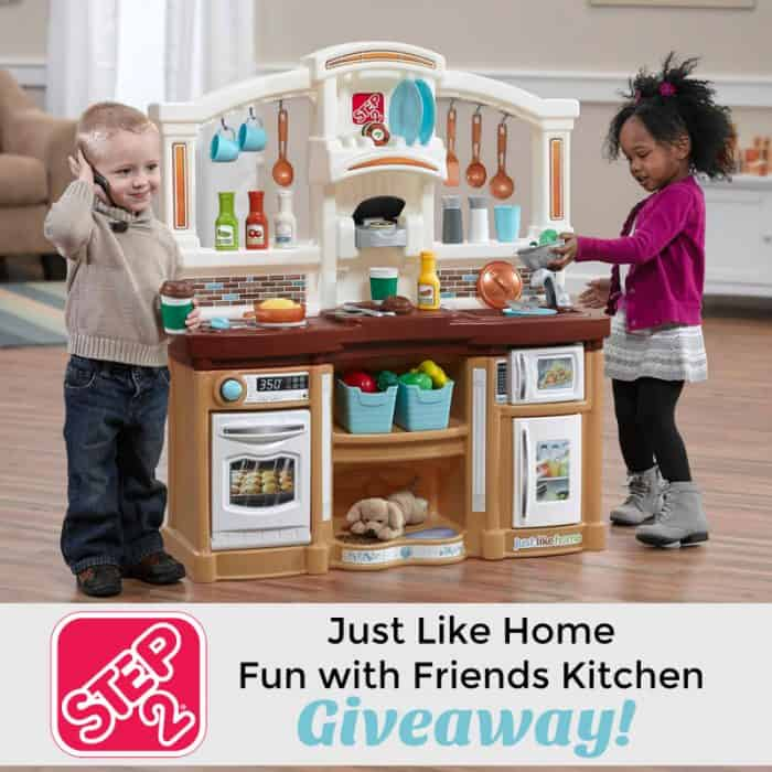 Just For Fun Twitter Giveaway By: Win The Step2 Just Like Home Fun With Friends Kitchen