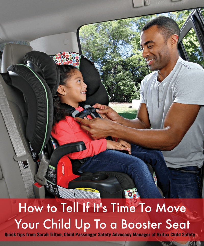 How to Tell If It's Time To Move Your Child Up To a Booster Seat