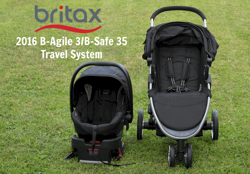 Britax 2016 B-Agile 3B-Safe 35 Travel System 2