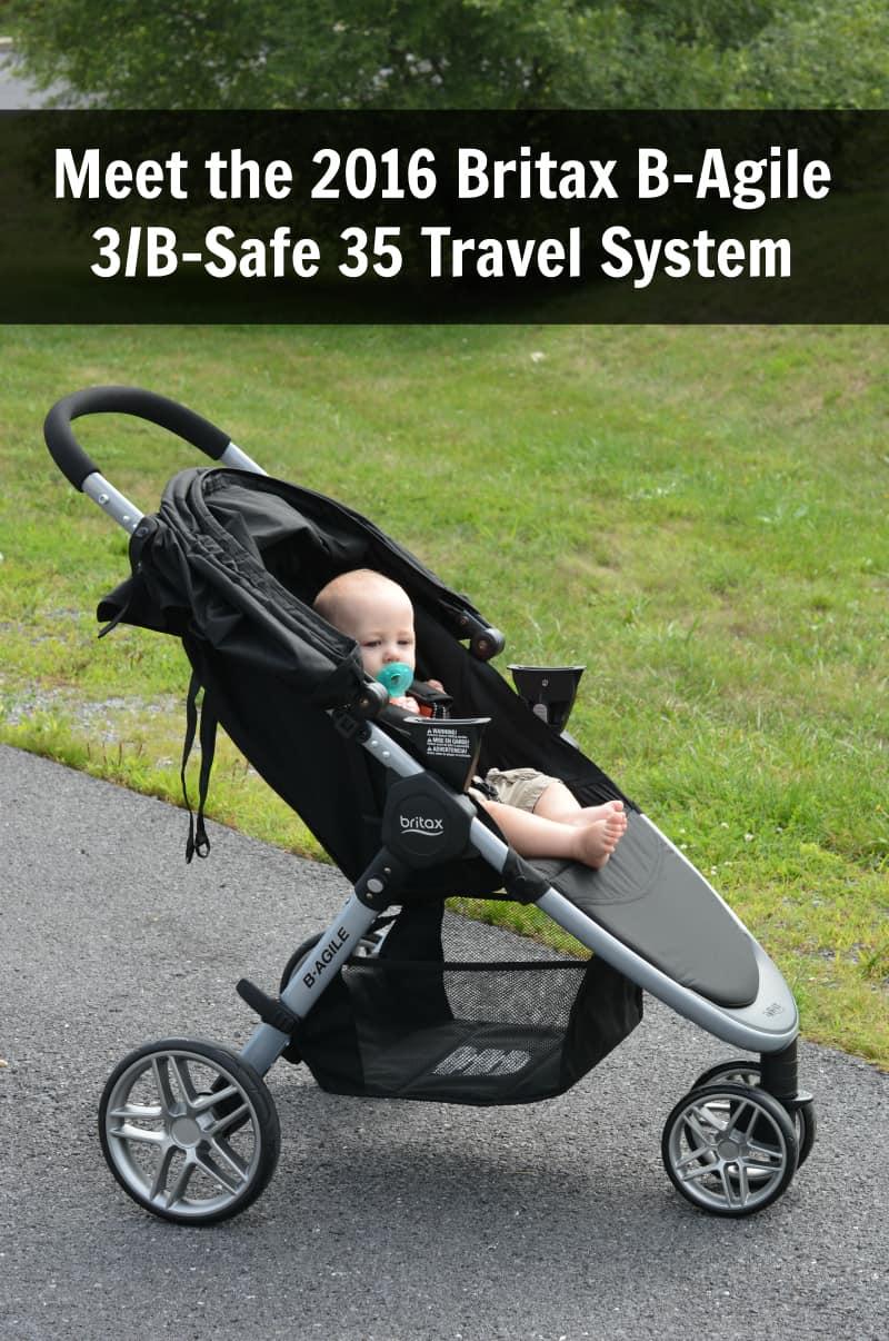 Britax B-Agile Travel System