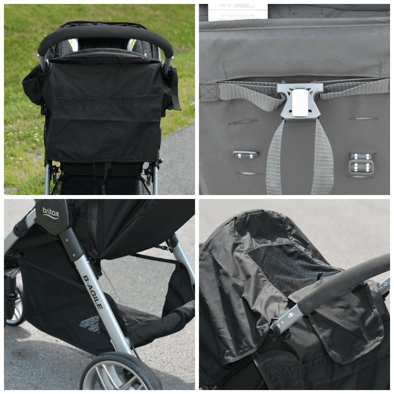 Britax BAgile Features 2016