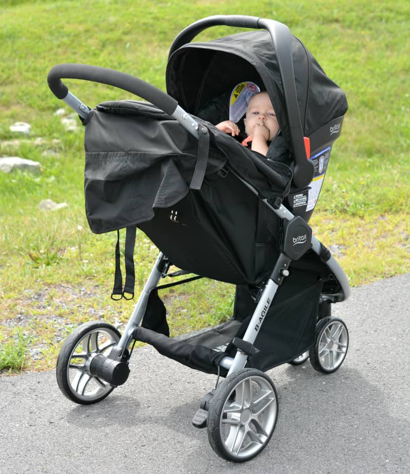 britax b agile travel