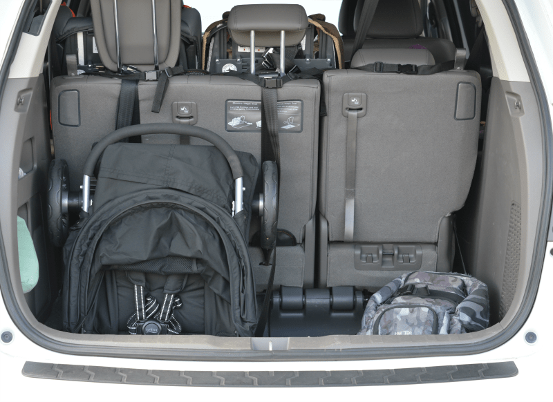 Britax BAgile in Trunk