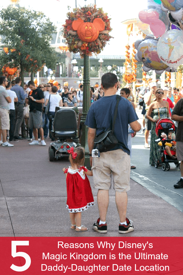 Disney is great for a daddy daughter date!
