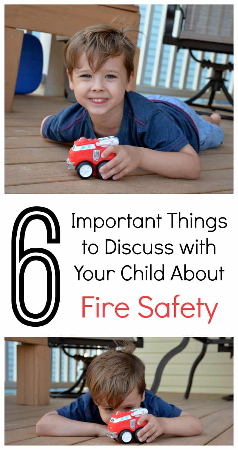 6 Important Things To Discuss with Your Kids About Fire Safety
