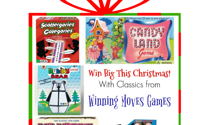 Win Big This Christmas With Classic Games For The Whole Family!