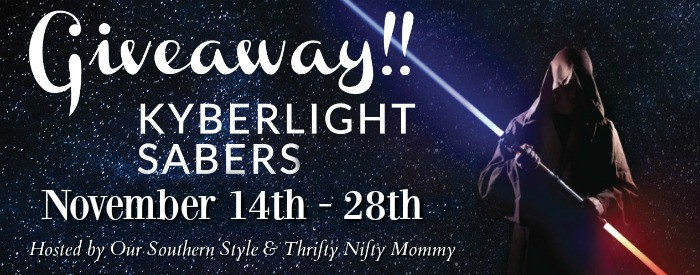 Kyberlight Sabers Are Out Of This World!