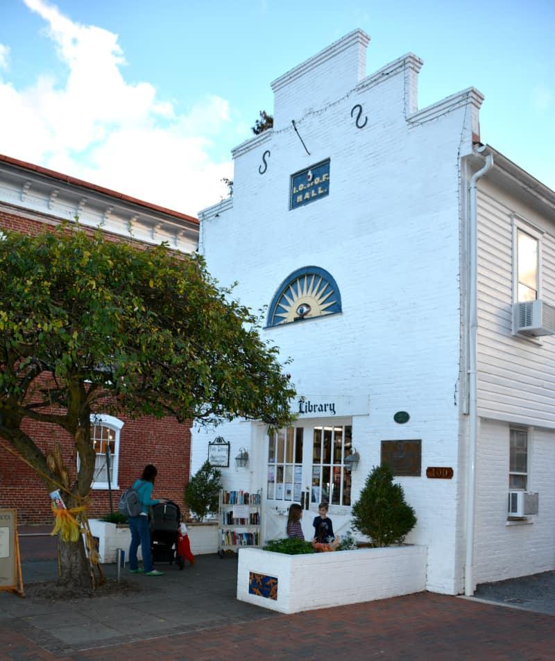 shepherdstown-library