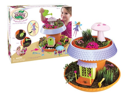Quite Literally Everything Except For The Water Is Supplied In This Kit So That Kids Can Start Growing Their Very Own Enchanted Fairy Garden As Soon