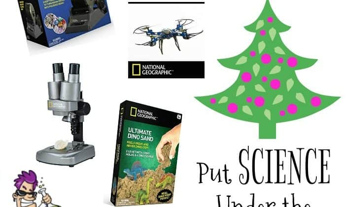 This Year Put Science Under The Christmas Tree {With National Geographic From Discover With Dr. Cool}!