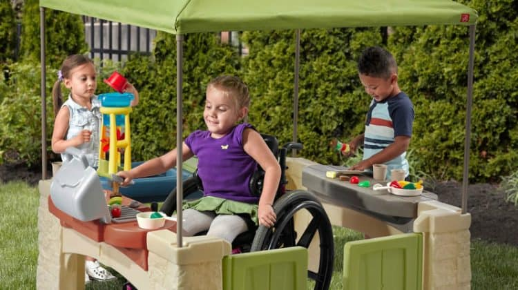 Win the Step2 All Around Playtime Patio with Canopy