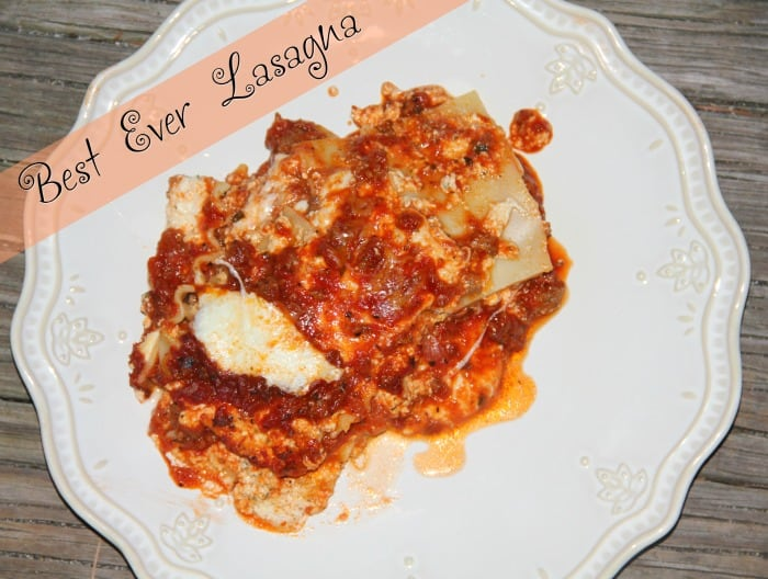Lasagna Cover